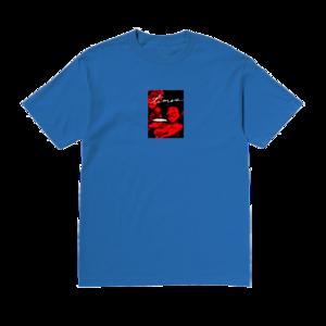 SG Lewis: SG Lewis Red Flyer Blue T-Shirt
