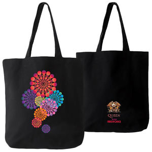 Queen: Super Fireworks Tote Bag