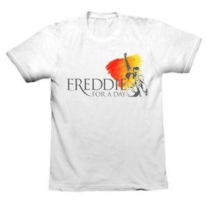 Freddie For A Day: Freddie For A Day Logo White T-Shirt