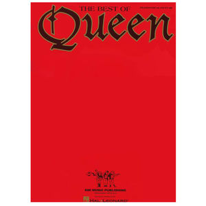 Queen: The Best Of Queen (Piano/Vocal/Guitar) Sheet Music Book