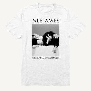 Pale Waves: 2018 Spring Tour Dateback Tee
