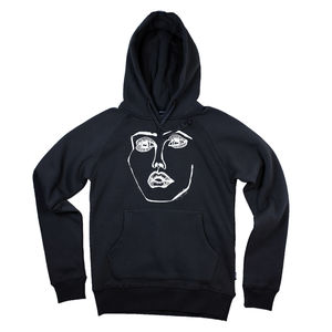 Disclosure: 'CARACAL' HOODIE (BLACK & WHITE)