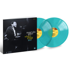 Marvin Gaye: What's Going On Live: Exclusive Turquoise Coloured Vinyl