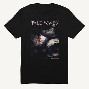 Pale Waves: 2017 Tour Flower Dateback Tee