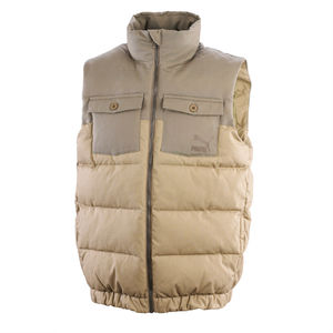 Professor Green: Gilet Team Khaki - Brindle
