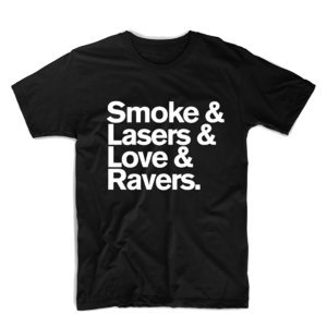 Wilkinson: Smoke and Lasers Black T-shirt