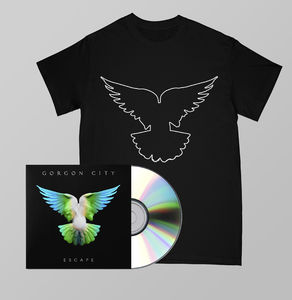 Gorgon  City: ESCAPE SIGNED CD + TEE BUNDLE