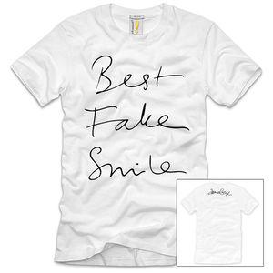 james bay: James Bay Best Fake Smile White T-Shirt