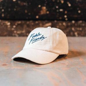 Fickle Friends: Grey Logo Dad Hat