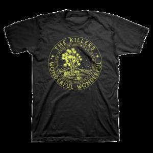 The Killers: Wonderful Circle T-Shirt