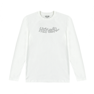 Lady Gaga: Hey Girl White Long Sleeve
