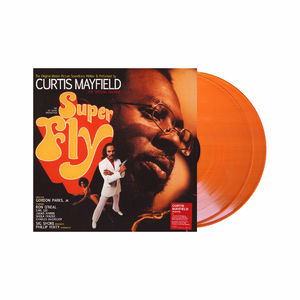 Curtis Mayfield: Superfly (The Original Motion Picture Soundtrack) Orange Coloured Vinyl