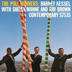 Shelly Mann, Barney Kessel, Ray Brown: The Poll Winners