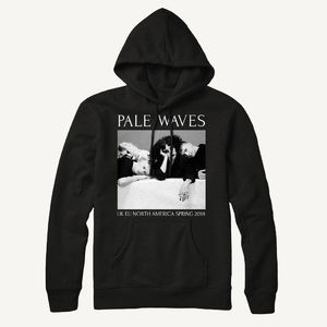 Pale Waves: 2018 Spring Tour Dateback Hoodie