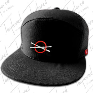 Roger Taylor: 'Taylored' Black Truckers Cap