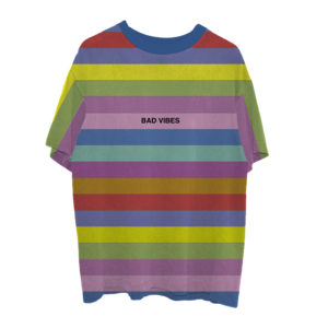 XXXtentacion: BAD VIBES STRIPED TEE II