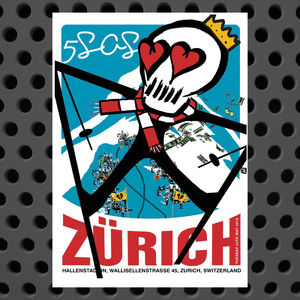 5 Seconds of Summer: Zurich May 24th Event Litho