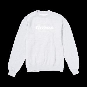 S.G. Lewis: times Text Logo Grey Sweatshirt
