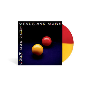 Wings: Venus and Mars Limited Edition Red/Yellow Vinyl