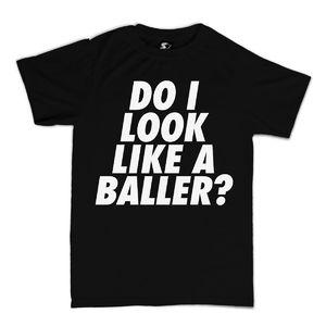 Meridian Dan: Do I Look Like a Baller? Black T-Shirt