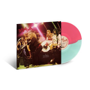 New York Dolls: Too Much Too Soon: Coke Bottle Clear & Opaque Pink Swirl Colour Vinyl