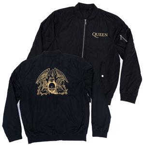Queen: Gold Crest Bomber Jacket