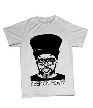 Virgin 40: Limited Edition Ted Draws Jazzie B T-Shirt Medium