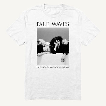 Pale Waves: 2018 Spring Tour Dateback Tee