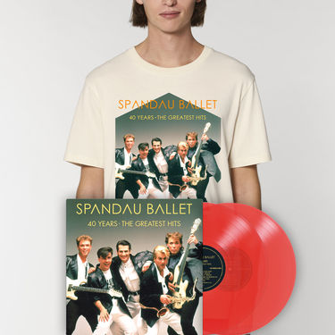 Spandau Ballet: 40 Years The Greatest Hits Vinyl & Tee