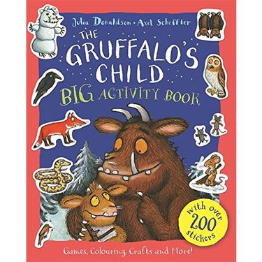 Donaldson and Scheffler: The Gruffalo's Child BIG Activity Book (Paperback)