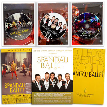 Spandau Ballet: Soul Boys Of the Western World 3 Disc Special Hong Kong Edition 3xDVD