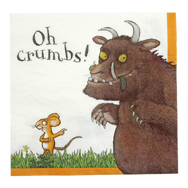 The Gruffalo: Gruffalo 20 Crumb-Catching Napkins