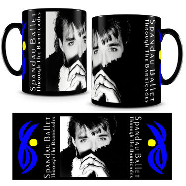 Spandau Ballet: Iconic Photo Mug 'Martin'
