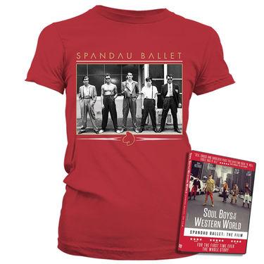 Spandau Ballet: Vintage Band Antique Cherry Womens T-Shirt & DVD
