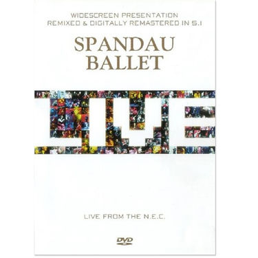 Spandau Ballet: Live At NEC - DVD PAL
