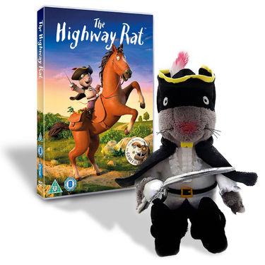 Highway Rat: Highway Rat DVD & Plush Toy Bundle