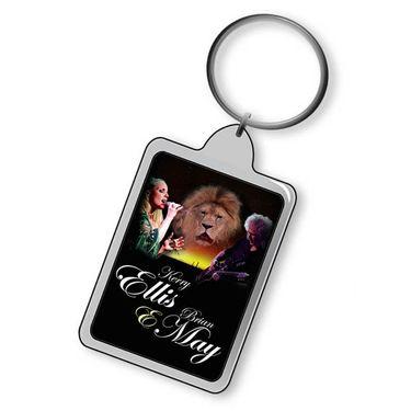 Brian May + Kerry Ellis: Born Free Keyring