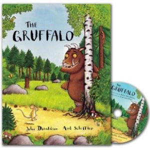 The Gruffalo: The Gruffalo (Paperback and CD)