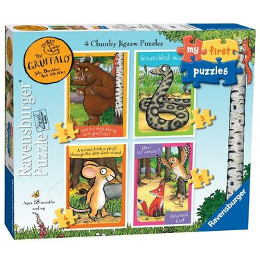 The Gruffalo: The Gruffalo My First Puzzles