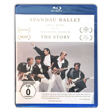 Spandau Ballet: SPANDAU BALLET THE FILM: SOUL BOYS OF THE WESTERN WORLD (GERMAN EDITION Blu-ray)
