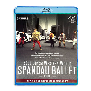 Spandau Ballet: SPANDAU BALLET SOUL BOYS OF THE WESTERN WORLD(ITALIAN EDITION BLU-RAY)