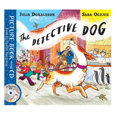 Julia Donaldson: Detective Dog Book and CD Pack
