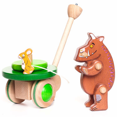 The Gruffalo: The Gruffalo Wooden Push Along Toy