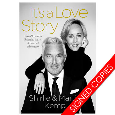 Martin Kemp: It's A Love Story Signed Copies