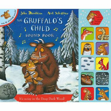 Julia Donaldson: The Gruffalo's Child Sound Book (Hardback)