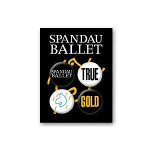 Spandau Ballet: Spandau Ballet Badge Set