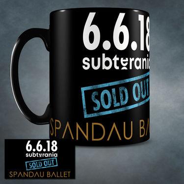 Spandau Ballet: Spandau Ballet Subterania collectors Mug