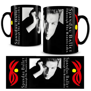 Spandau Ballet: Iconic Photo Mug 'Gary'