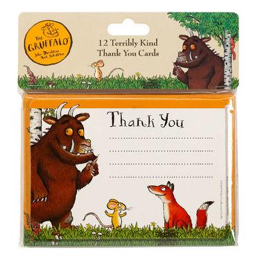 The Gruffalo: Gruffalo 12 Terribly Kind Thank You Cards