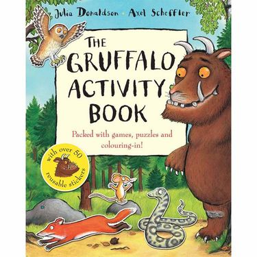 The Gruffalo: The Gruffalo Activity Book (Paperback)